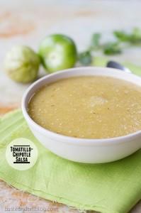 Tomatillo Chipotle Salsa