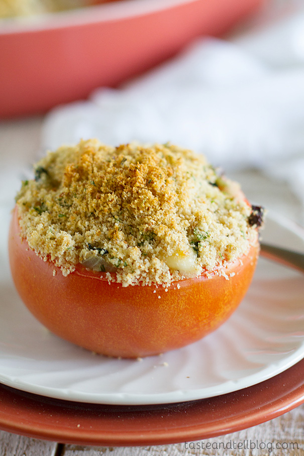 Recipe for Cheesy Italian Stuffed Tomatoes