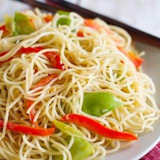 Easy Lo Mein Recipe