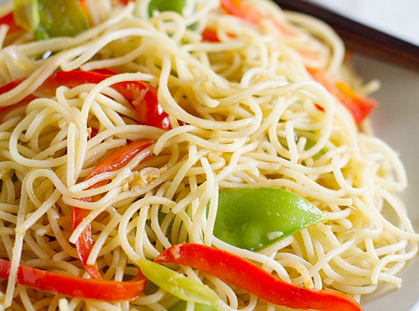 Easy Lo Mein Recipe