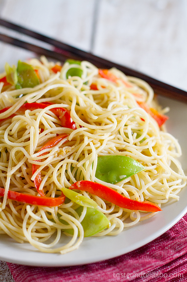 Easy Lo Mein Recipe Taste And Tell