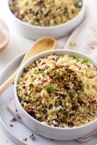 Quinoa Salad from Food Faith Fitness