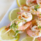 Lemon Shrimp Kabobs