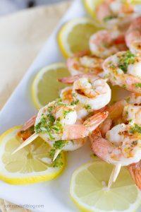 Lemon Shrimp Kabobs