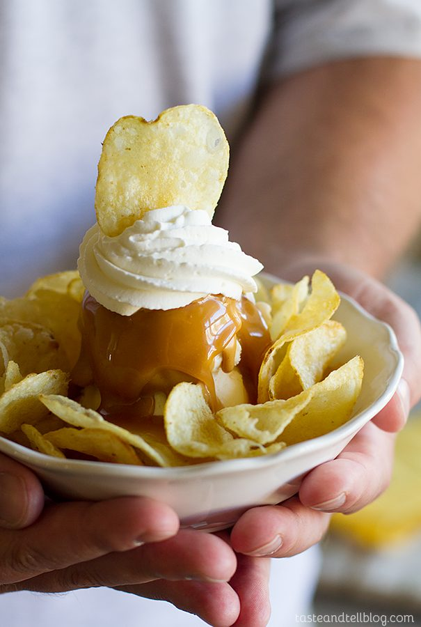 Mr Potato Head Sundae Recipe from Brooklyn Farmacy and Soda Fountain