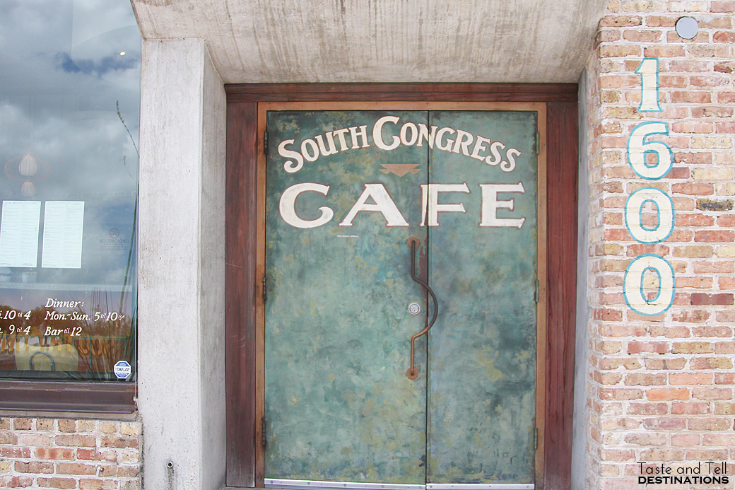 South Congress Cafe in Austin, TX