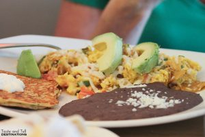Migas at South Congress Cafe