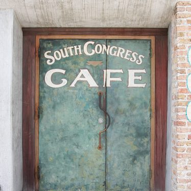 South Congress Cafe in Austin TX