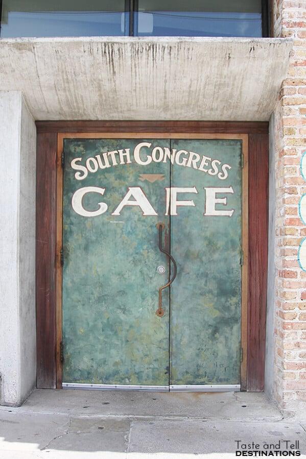 South Congress Cafe in Austin TX