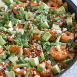 Southwestern Shrimp Quinoa Recipe