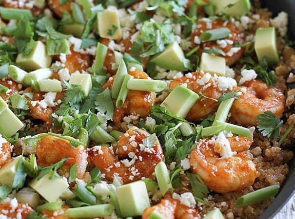 Southwestern Shrimp Quinoa Recipe