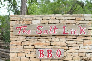 The Salt Lick - Austin, TX