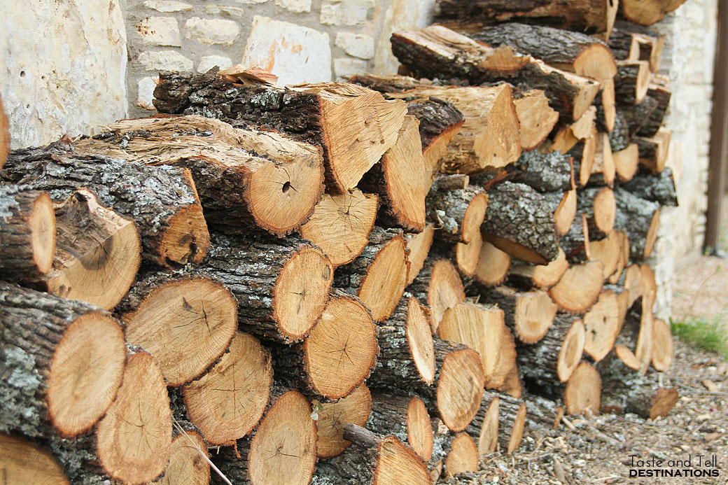 Firewood at The Salt Lick
