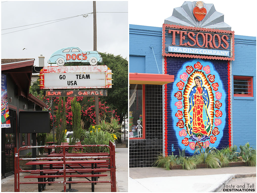 South Congress Signs in Austin, Texas