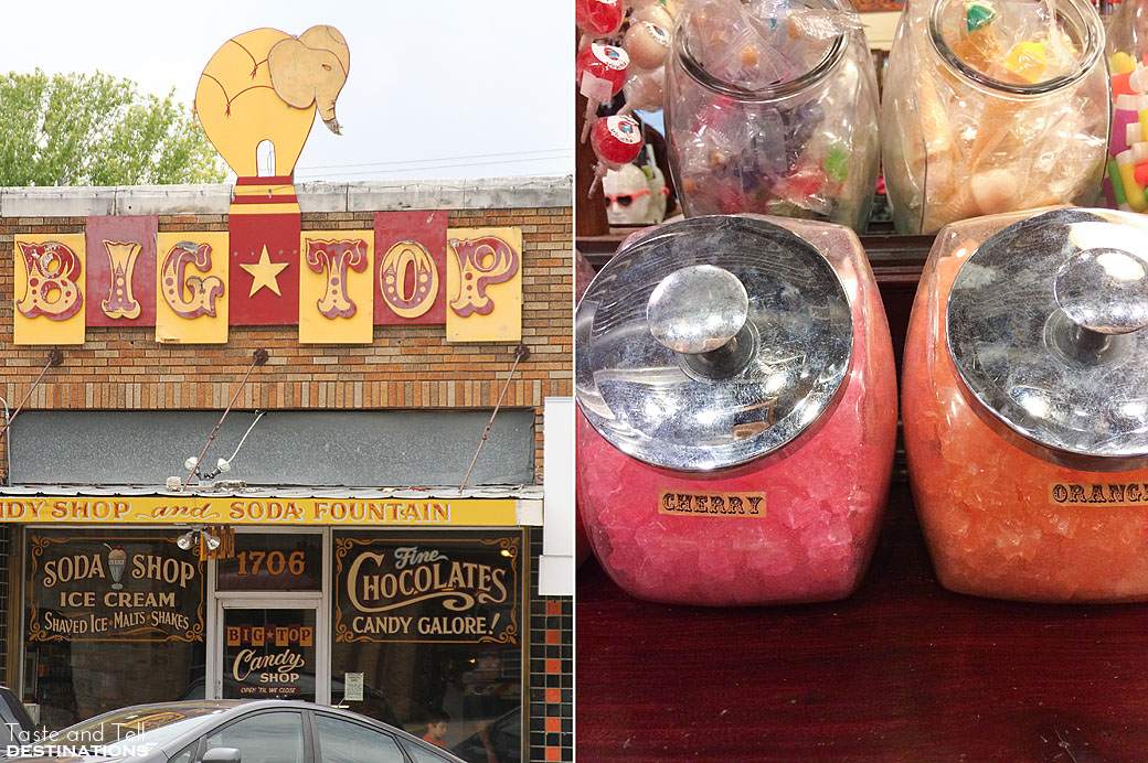 What to do in Austin Texas - Big Top Candy Shop