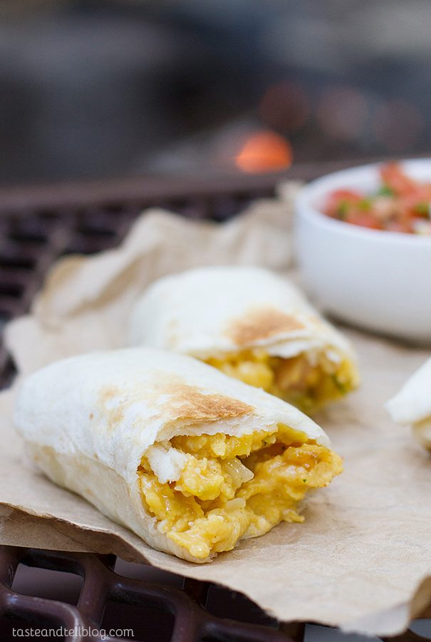 Breakfast Burritos – Campfire Style