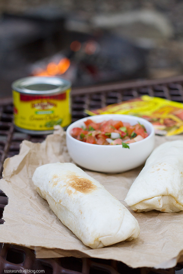 Make Ahead Breakfast Burritos - perfect camping food!