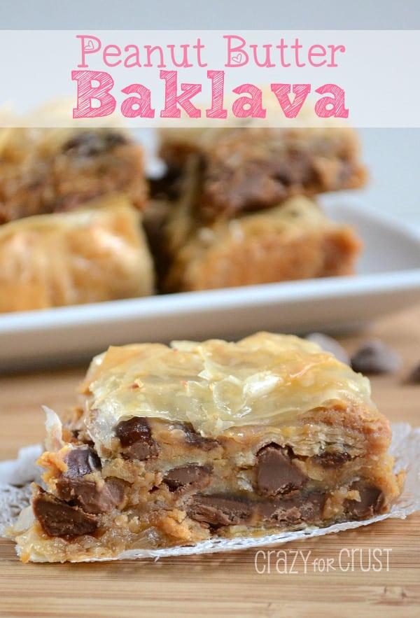 Peanut Butter Baklava from Crazy for Crust