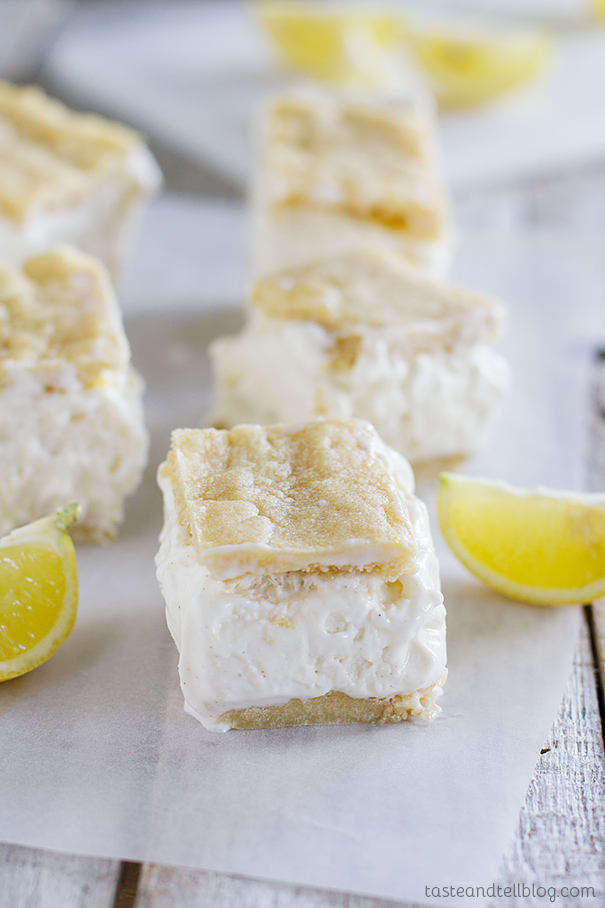 Lemon Bar Ice Cream Sandwich Recipe