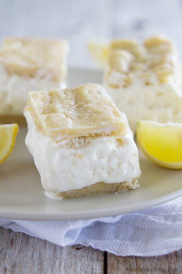 Shortbread Lemon Tart Recipe - Taste and Tell