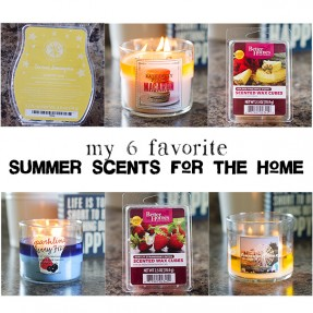 My 6 Favorite Summer Scents for the Home - Taste and Tell