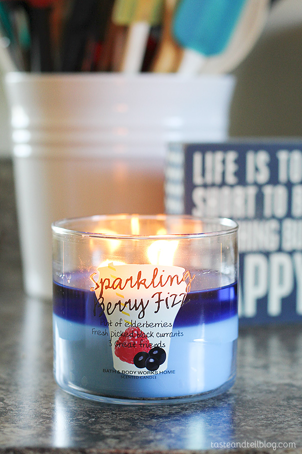 My 6 Favorite Summer Scents - Sparkling Berry Fizz
