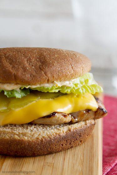 Santa Fe Grilled Chicken Sandwich Recipe - Carl's Jr Copycat