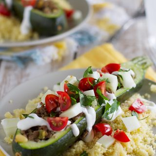 Zucchini Boats on Taste and Tell