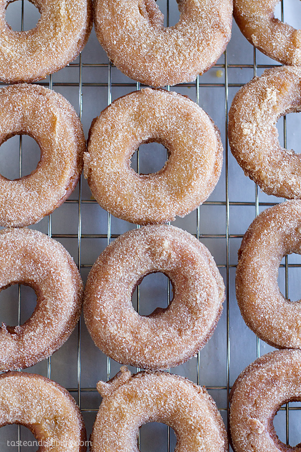 The best fall doughnuts - Apple Cider Doughnuts