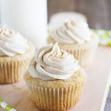 Chai Spiced Cupcakes - cupcakes filled with chai tea flavors.