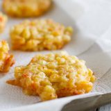 Fritters made with Fresh Corn