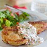 Recipe for Chicken in a delicious Basil Cream Sauce