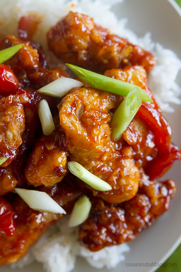 Daddy Wu's Chinese Chicken from The Rachael Ray Show