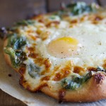 Take your pizza up a notch with this Creamed Spinach and Egg Pizza