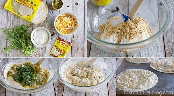 Easy Meatless Dinner - Creamy Quesadilla Recipe