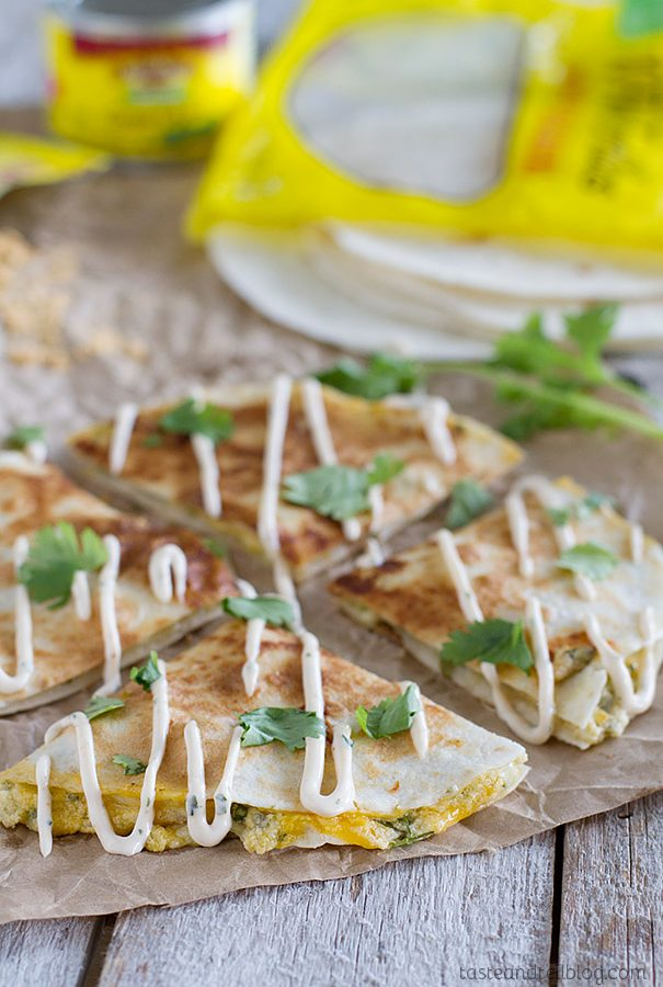 Creamy Quesadilla Recipe