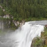 Mesa Falls - gorgeous waterfall in Idaho