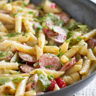 Skillet Penne with Sausage