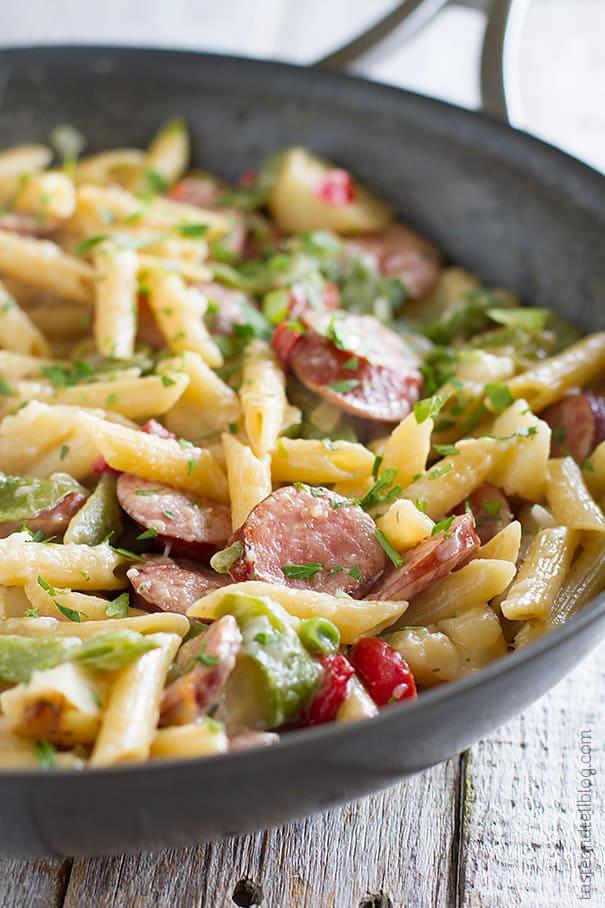 Skillet Pasta with Sausage