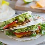 Tex-Mex Cheeseburger Tacos