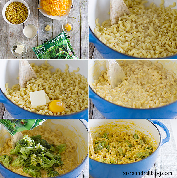 How to make Tuscan Broccoli Stovetop Mac and Cheese