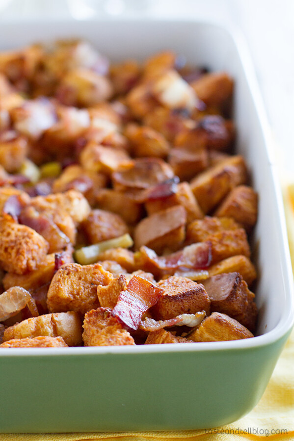 BBQ Bacon Stuffing Recipe