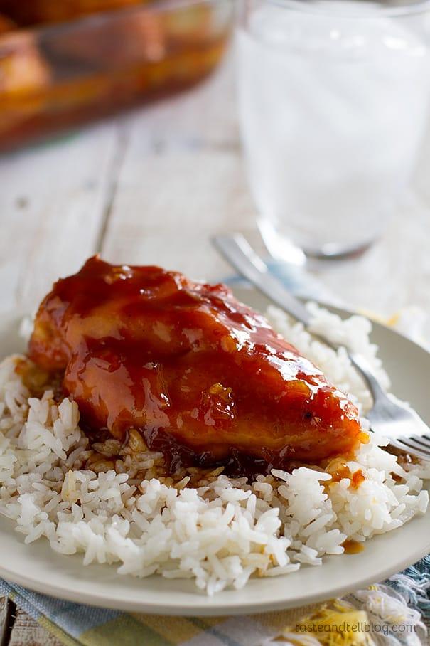 Candied Chicken Recipe
