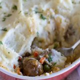 Meatball Cottage Pie Recipe