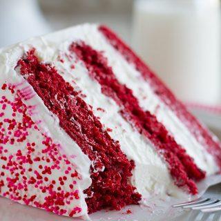 Delicious Red Velvet Ice Cream Cake Recipe