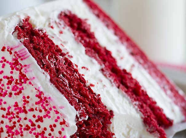 Delicious Red Velvet Ice Cream Cake Recipe