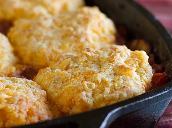 Skillet Turkey Pot Pie Recipe