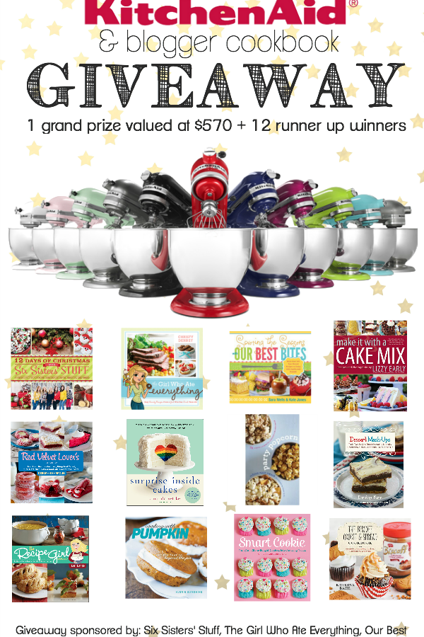 KitchenAid and Cookbook Giveaway!