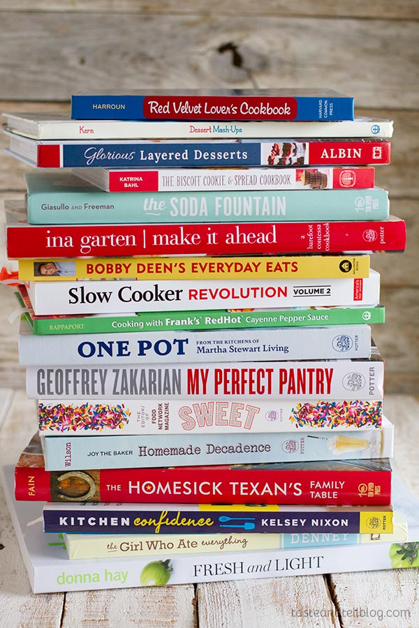 2014 Cookbook Gift Guide on Taste and Tell