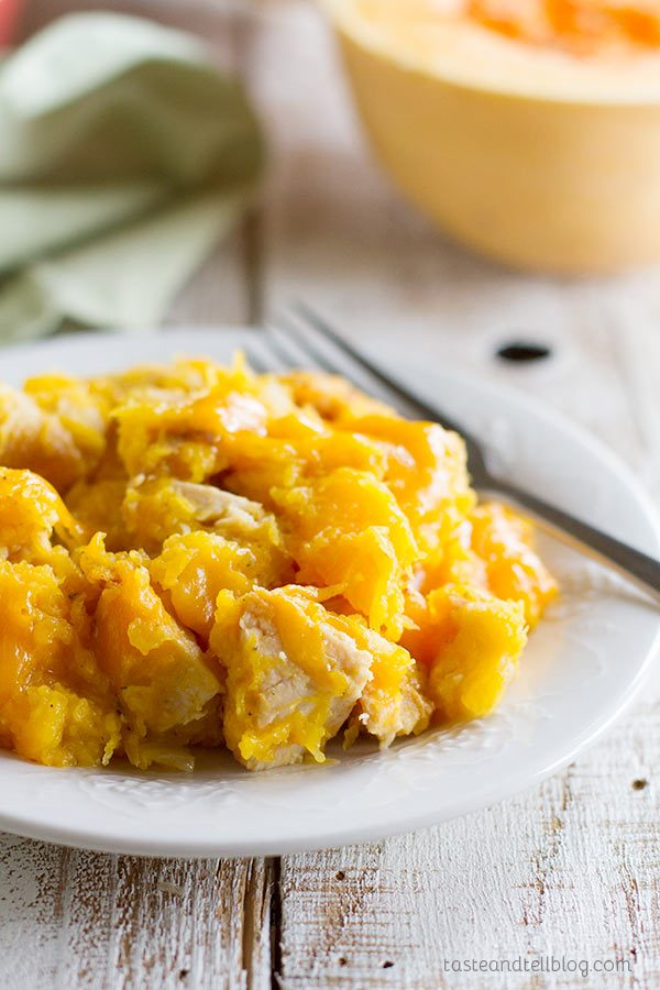 Butternut Squash and Turkey Casserole
